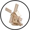 Bekijk onze pagina met bouwpakketten, de favoriet van vele opa's en grootvaders.
